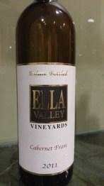 2011 Ella Valley Cabernet Franc