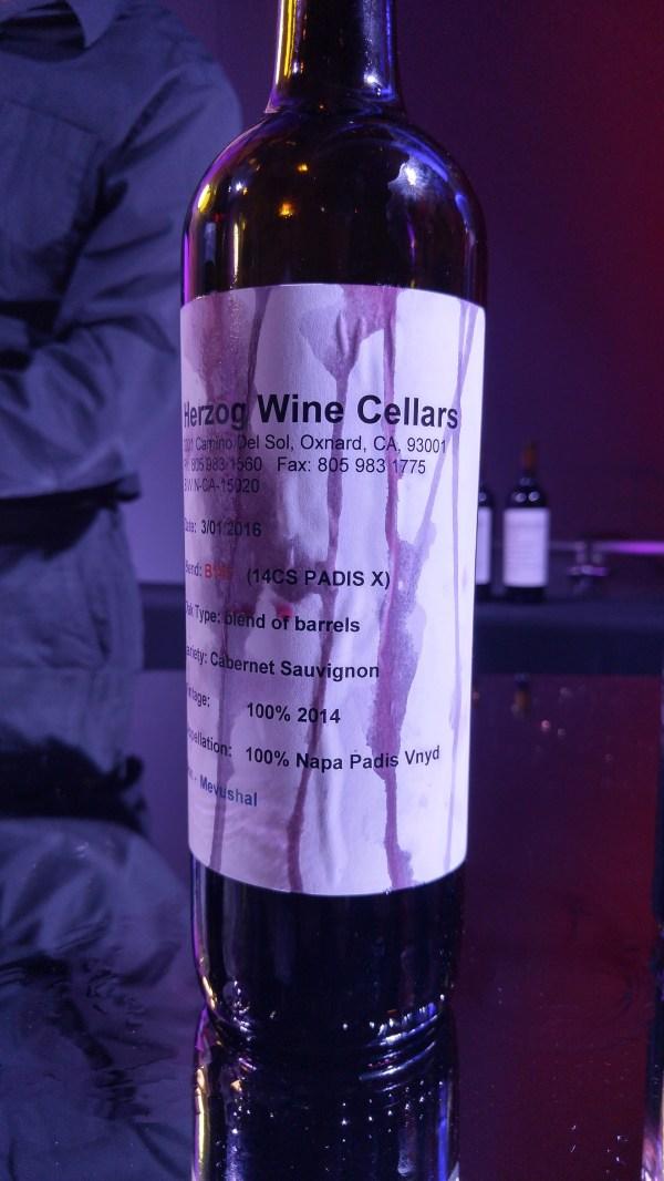 2014 Brilliance Cab - barrel sample