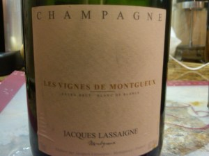 Jacques Lassaigne Blanc de Blancs, Brut, 'Cuvée les Vignes de Montgueux' NV