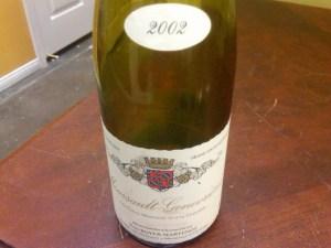 Domaine Yves Boyer-Martenot, Meursault Les Genevrières 1er Cru 2002