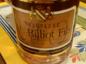 H. Billiot Fils Brut Rosé Champagne NV