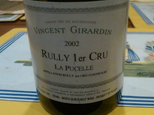 Girardin Rully Pucelle 2002