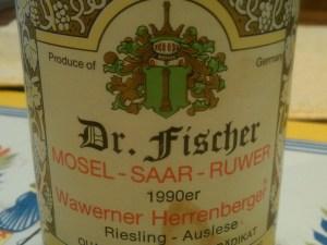 Fischer Auslese 1990