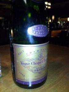 Veuve Clicquot Reserve Brut 1985