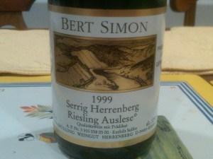 Bert Simon Auslese 1999 #3