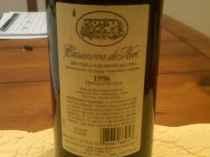 Casanova Neri 1996 #1