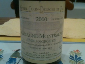 Deleger Chassagne Morgeot 2000
