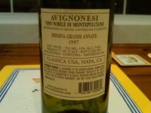 Avigonesi Nobile 1997