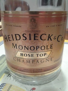 Heidsieck Rose Top NV