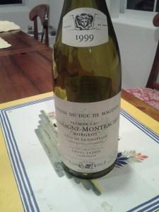 Magenta Jadot Morgeot Chapelle 1999 #4