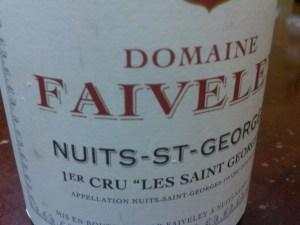 Faiveley Les 2010 #1