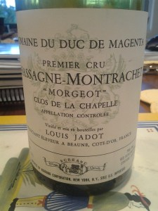 Jadot Morgeot Chapelle Rouge 1995 #2