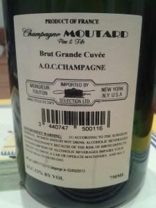 Moutard Brut Grande Cuvee NV