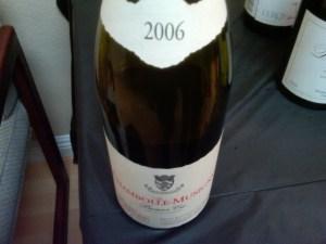 Bertheau Chambolle 1er Cru 2006 #1