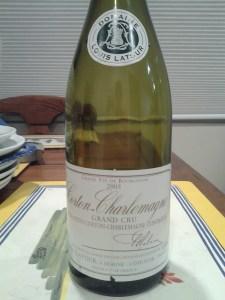 Louis Latour Corton Charlemagne 2005 #3
