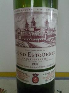 Cos D'Estournel 1988