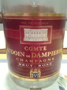 Comte Dampierre Rose NV #3