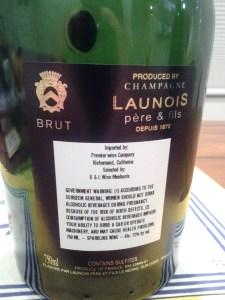 Launois Reserve NV #3