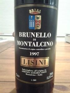Lisini Brunello 1997
