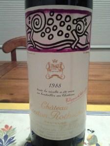 Mouton Rothschild 1988 #3