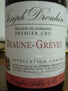 Drouhin Beaune Greves 1999