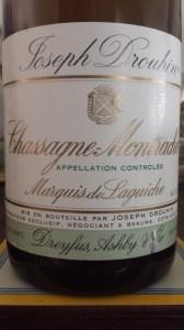 Drouhin Languiche Chassagne-Montrachet 2008
