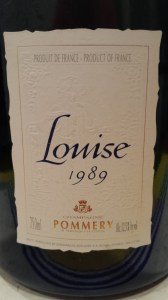 Pommery Louise 1989