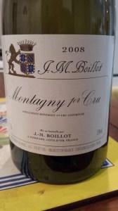 J.M. Boillot Montagny 1er Cru 2008 #1