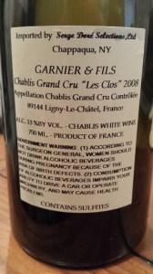 Garnier Clos 2008