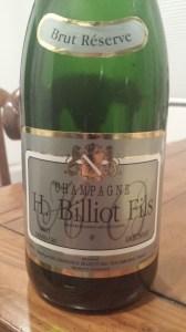 H. Billiot Fils Reserve Grand Cru Brut NV #2