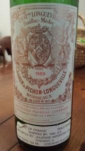 Pichon Baron 1989