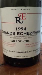 Rene Engel Grands Echezeaux 1994 #1