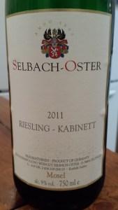 Selbach Oster Kabinett 2011