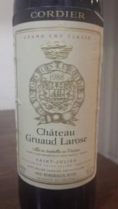 Gruaud Larose 1988 #1