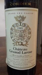 Gruaud Larose 1989