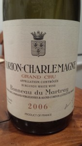 Martray Corton Charlemagne 2006