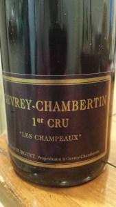 Burguet Gevrey Champeaux 1999 #1