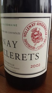 D'Angerville Volnay Caillerets 2002
