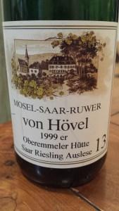 Von Hovel Auslese 1999