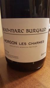 Burgaud Morgon Charmes 2014