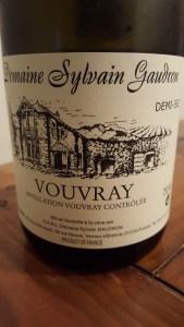 Gaudron Vouvray Demi-Sec 2010