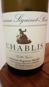 Seguinot-Bordet Chablis 2014