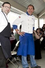 Alex & Chef Fabrizio