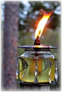 WINEormous oil lamp