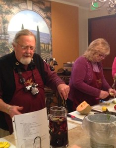 WINEormous with IFWTWA Busy Making Sangria