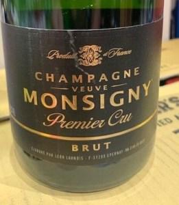 NV Veuve Monsigny 'Premier Cru' Brut NV
