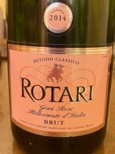 Rotari Sparkling Rose 2014
