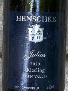 Henschke Julius Eden Valley Riesling 2020