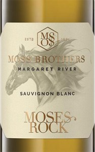 Moss Brothers Moses Rock Margaret River Sauvignon Blanc 2019