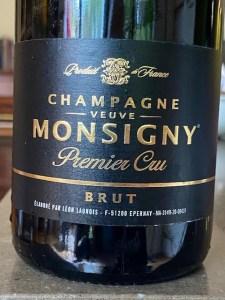 Veuve Monsigny 1er Cru Brut Champagne NV